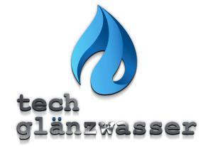 Logo tech glanzwasser